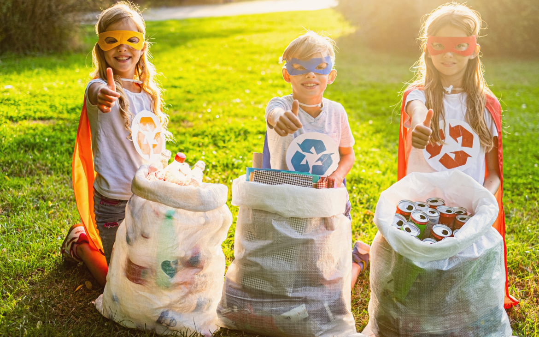 Recycling Superhero