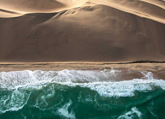 Skeleton Coast Scenic Flight